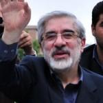El líder reformista Mir Hussein Mousavi está bajo arresto domiciliario desde febrero de 2011. Crédito: Hamed Saber/cc by 2.0.