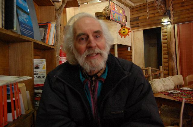 """""""No queremos poner un candado a la región, sino utilizar sus cualidades"""" para un desarrollo sostenible, dice Peter Hartmann, coordinador de Aysén Reserva de Vida en la patagónica región chilena. Crédito: Marianela Jarroud /IPS"""