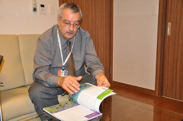 Director ejecutivo del Convenio de las Naciones Unidas sobre la Diversidad Biológica (CDB), Braulio Ferreira de Souza Dias. Crédito: Desmond Brown/IPS