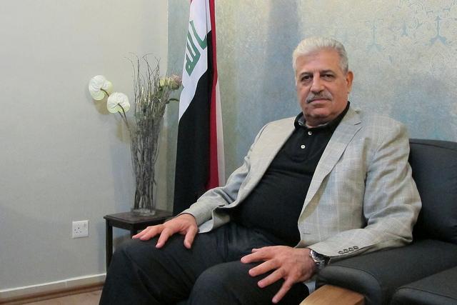 Atheel al Nujaifi, gobernador de Nínive, la provincia del norte de Iraq de la que es capital Mosul, hasta que el grupo extremista Estado Islámico se apropió de la ciudad en junio. Crédito: Karlos Zurutuza/IPS