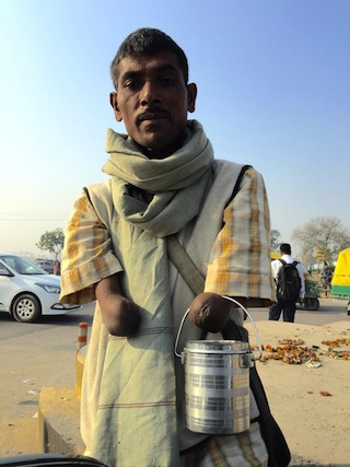 A pesar del gran crecimiento económico, la miseria es palpable en todo el territorio de India, con 1.200 millones de habitantes. Crédito: Neeta Lal/IPS