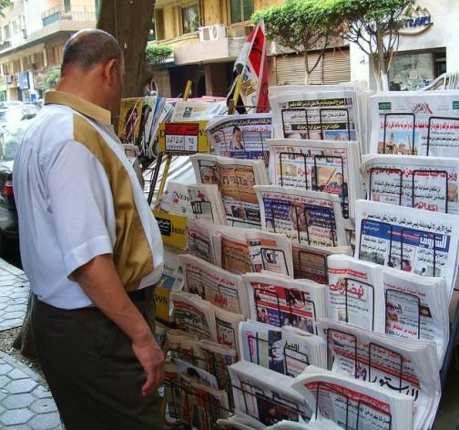 El colapso de los regímenes autocráticos en Túnez y Egipto acabó con el dominio absoluto del Estado sobre la prensa, pero periodistas y blogueros todavía deben cuidarse de lo que dicen. Crédito: Cam McGrath / IPS