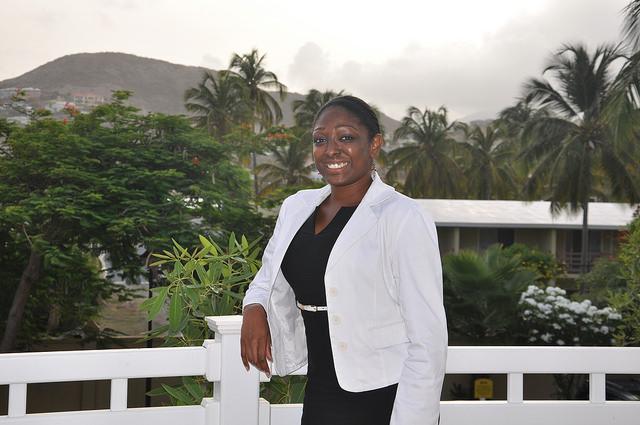 Kerricia Hobson dice que Granada comenzará un proyecto para recuperar los arrecifes de coral, el primero en un país del Caribe oriental. Crédito: Desmond Brown/IPS.