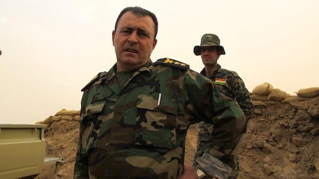 El coronel peshmerga Jamal Masim Jafar dice sentirse satisfecho con el apoyo que sus fuerzas kurdas reciben del exterior para combatir al Estado Islámico. Crédito: Karlos Zurutuza/IPS