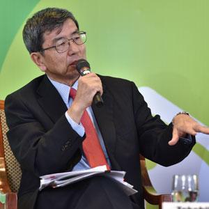 El presidente del BDA, Takehiko Nakao. Crédito: Banco de Desarrollo Asiático.