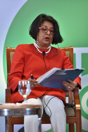 Directora general de IPS, Farhana Haque Rahman. Crédito: Banco de Desarrollo Asiático.