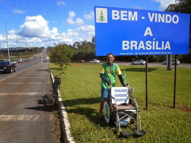 José Castro, más conocido como Zé do Pedal, el gran impulsor del Partido por la Accesibilidad y la Inclusión Social (PAIS) en Brasil, donde hay 36 organizaciones políticas legales. Crédito: JC Lions News
