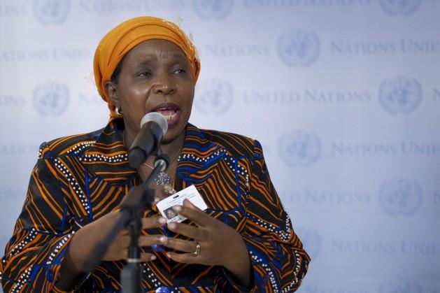 La presidenta saliente de la Comisión de la Unión Africana consideró la prohibición del ingreso de personas de siete países musulmanes a Estados Unidos como una prueba para la unidad y la solidaridad. Foto de la ONU / Rick Bajornas.
