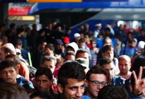 Refugiados en Alemania.