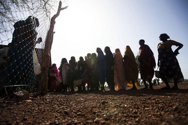 El hambre golpea a ciertas regiones de Sudán del Sur. Las agencias de la ONU alertan de que casi 5.000 millones de personas necesitan de forma urgente asistencia alimentaria y agrícola. Crédito: FAO.