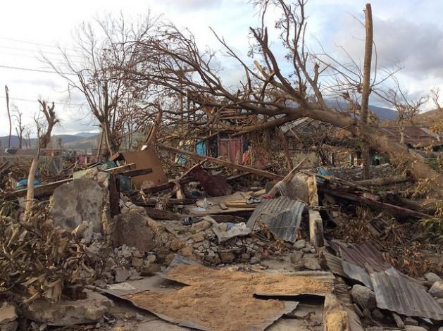Alrededor de 1,4 millones de haitianos necesitan ayuda alimentaria después del huracán Matthew. Crédito: Gianluca Gondolini/FAO