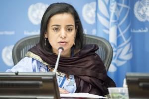 Mariam Wallet Aboubakrine, de Mali. Crédito: Rick Bajornas/UN Photo.