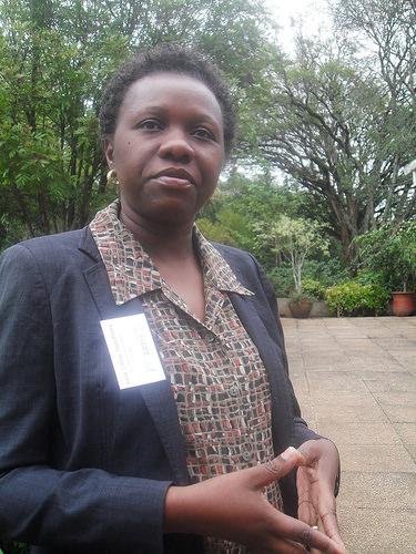 Anne Lillian Nakafeero, de la Autoridad Nacional de Gestión Ambiental de Uganda. Crédto: Miriam Gathigah/IPS.