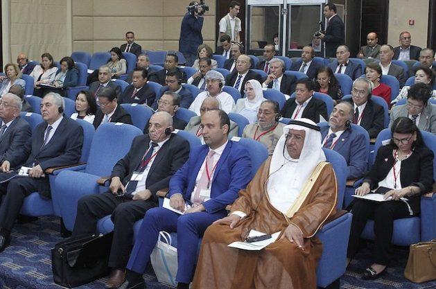 Parlamentarios árabes y asiáticos reunidos en Amán para la conferencia anual En la reunión anual realizada por primera vez en el mundo árabe. Crédito: Safa Khasawneh/IPS.