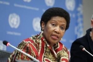 Phumzile Mlambo-Ngcuka, directora ejecutiva de ONU Mujeres. Crédito: Devra Berkowitz/ UN Photo