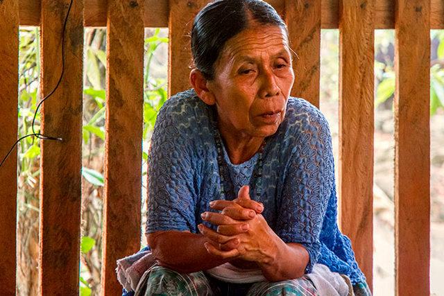 Demecia Yat de Xol. Crédito: Rocizela Pérez/ Mujeres Transformando el Mundo