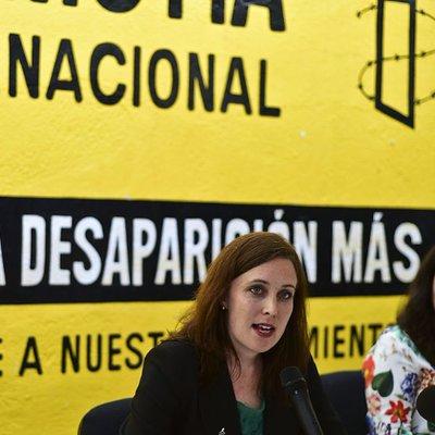 Madeleine Penman, investigadora para México de Amnistía Internacional