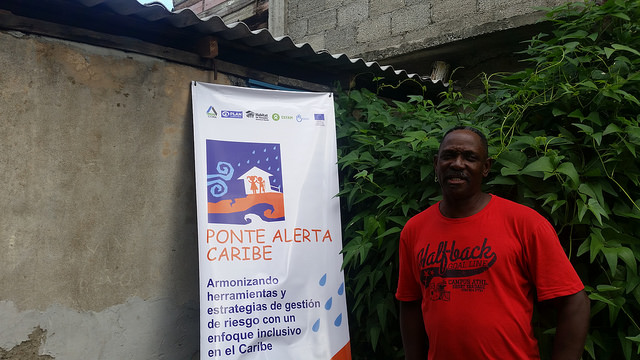 Simón Despaigne, presidente de la Asociación Cubana de Limitados Físico Motores en la provincia de Guantánamo, para quien el conocimiento fue el principal aporte del proyecto Ponte Alerta Caribe, en la sede de la asociación en la ciudad de Guantánamo, en el este de Cuba. Crédito: Ivet González/IPS