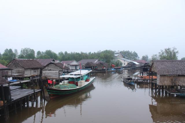Sungai Nibung, un pueblo de pescadores ubicado dentro de un área protegida de manglares, en el municipio de Kubu Raya, en la provincia de Kalimantan Occidental, en Borneo, en la parte de Indonesia de esa isla compartida con Malasia y Brunei, situada en el sudeste de Asia y la tercera más grande del mundo. Foto: Cortesía de Sungai Nibung