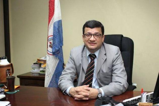 Mario León, en una imagen cuando era viceministro de Agricultura de Paraguay, cargo que abandonó en marzo para pasar a ser gerente del Programa de Desarrollo Territorial y Agricultura Familiar del IICA. Foto: Gobierno de Paraguay