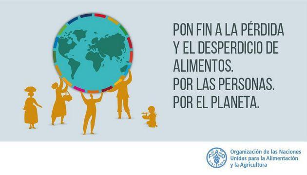 Cartel del Día Internacional de Concienciación sobre la Pérdida y el Desperdicio de Alimentos, que se celebra por primera vez este 29 de septiembre. Imagen: FAO