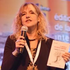 La autora, Florence Rodhain