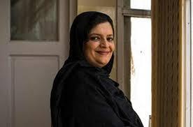 La autora, Zarqa Yaftali