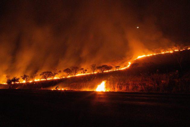 La falta de lluvias estuvo detrás de los incendios en 2020 de la parte brasileña del Pantanal, el mayor humedal del mundo, en un fenómeno que forma parte del cambio climático. Foto: Alamy/Diálogo Chino