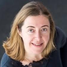 La autora, Amy Binns