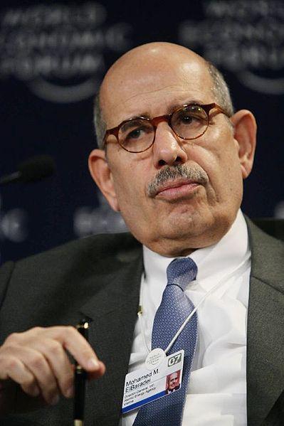 Ex director general de la AIEA, Mohammad ElBaradei. Crédito: WEF/cc by 2.0