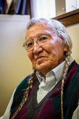 El anciano del pueblo yakama Russell Jim. Crédito: Jason E. Kaplan/IPS