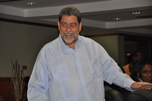 Primer ministro de San Vicente y las Granadinas, Ralph Gonsalves. Credit: Desmond Brown/IPS.