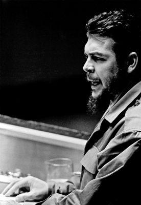 El Che Guevara, en la Asamblea General de la ONU, el 11 de diciembre de 1964. Foto de la ONU/TC