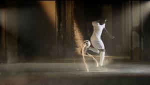 """Imagen tomada del video de la campaña """"El fútbol contra el hambre"""", que se exhibe en todos los partidos de la Copa Africana de Naciones este año. Crédito: FAO"""