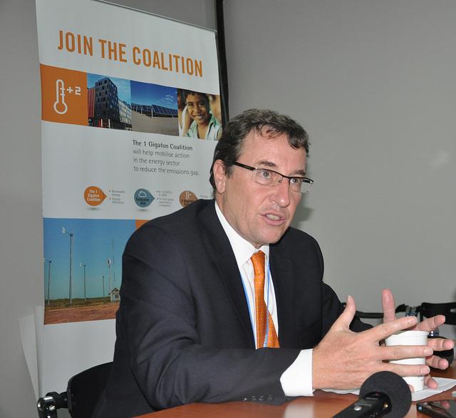 Director ejecutivo del Programa de las Naciones Unidas para el Medio Ambiente, Achim Steiner. Crédito: Desmond Brown/IPS