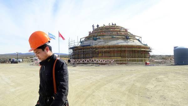 Avance de la construcción de la base espacial de China en la sureña provincia argentina de Neuquén, que rechaza la oposición política de todas las tendencias y grupos sociales. Crédito: Cortesía de DesarrolloyDefensa