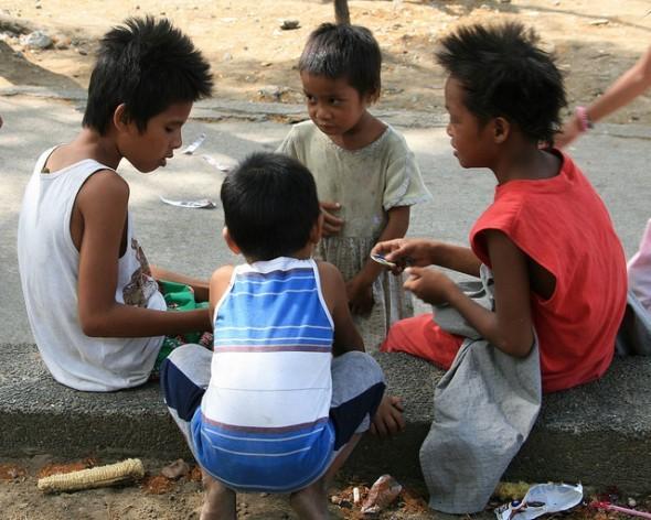 En Filipinas, 22 por ciento de los niños menores de cinco años tienen bajo peso, y 32 por ciento sufren retraso en el crecimiento. Crédito: Kara Santos/IPS