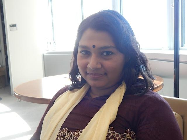 Nadia Sharmeen, periodista bangladesí. Crédito: Kanya D'Almeida/IPS