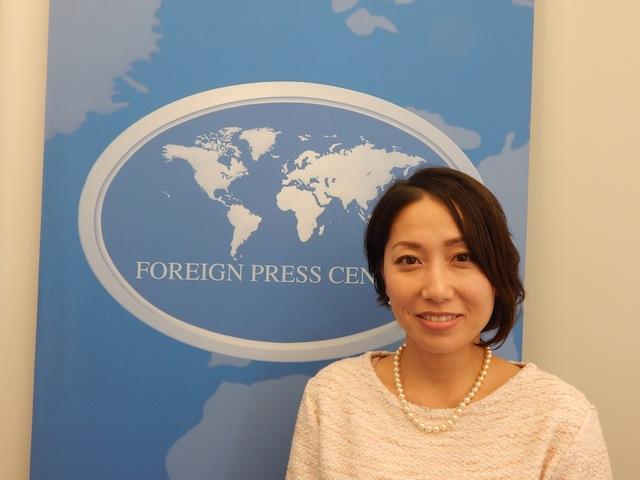 Sayaka Osakabe fundadora de la Red Matahara, una organización que lucha contra la práctica de acoso maternal en Japón, que obliga a las mujeres a elegir entre ser madres o trabajar. Crédito: Kanya D'Almeida/IPS.