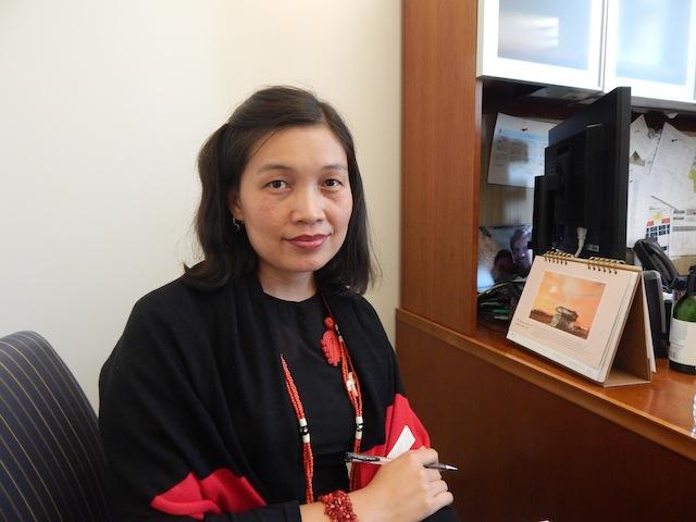 May Sabe Phyu, directora Red de Igualdad de Género en Birmania, defiende los derechos de las personas desplazadas en el septentrional estado de Kachin desde 2011. Crédito: Kanya D'Almeida/IPS.