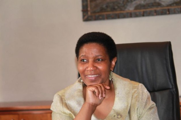 La autora, la sudafricana Phumzile Mlambo-Ngcuka, directora ejecutiva de ONU Mujeres. Crédito: Cortesía de ONU Mujeres