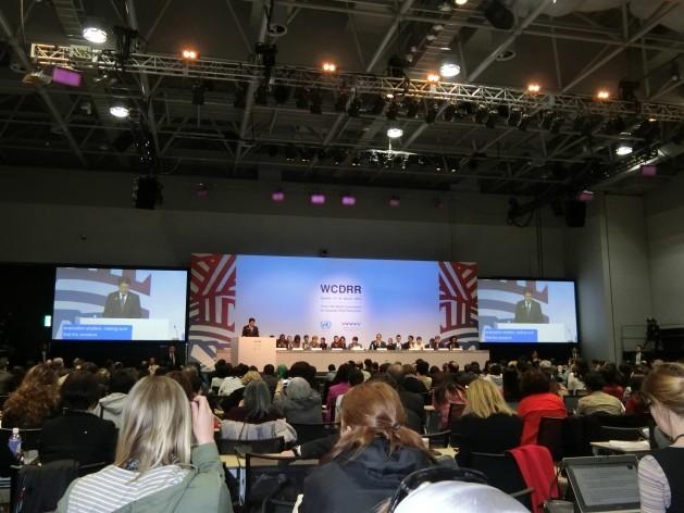 Imagen de la Tercera Conferencia Mundial para la Reducción del Riesgo de Desastres, en Sendai, Japón. Crédito: Katsuhiro Asagiri/IPS