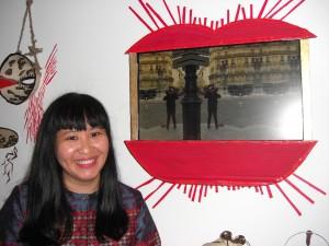 """""""No me considero una persona fuerte, pero el arte me ofrece la oportunidad de expresarme"""", dijo AnGie seah, una de las artistas singapurenses que participa en """"Singapur en Francia, el festival"""", en París. Crédito A.D. McKenzie/IPS."""