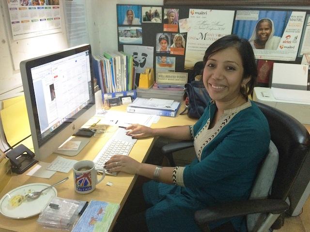 Anna Marie Lopes, de 28 años, es una sobreviviente de violencia doméstica y violación marital que ahora trabaja en una organización no gubernamental de Nueva Delhi. Crédito: Neeta Lal/IPS.