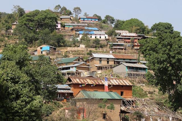 Este pueblo del distrito de Kavre fue uno de los más damnificados por el terremoto del 25 de abril. Crédito: Naresh Newar/IPS