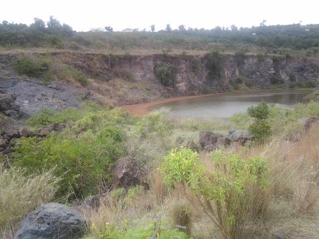 La industria minera degradó seriamente a algunos bosques kaya, sobre todo en el condado de Kilifi en la provincia Costera de Kenia. Crédito: Miriam Gathigah/IPS