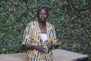 Dina Disan Olweny, directora de la Coalición de Organizaciones de Mujeres y Jóvenes del Estado, aboga por el cese de las tradiciones dañinas que sufren las niñas y jóvenes de Sudán del Sur. Crédito: Miriam Gathigah/IPS
