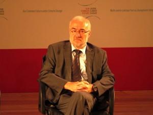 Michel Jarraud, secretario general de la Organización Meteorológica Mundial (OMM). Crédito: Fabiola Ortiz/IPS