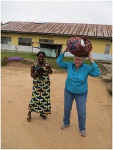 Lucy Hobgood-Brown, cofundadora de HandUp Congo, una organización dedicada al trabajo con mujeres en República Democrática del Congo.