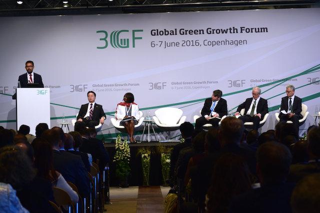 El Foro Global de Crecimiento Verde se celebró en Copenhague el 6 y 7 de junio de 2016. Crédito: Stella Paul / IPS